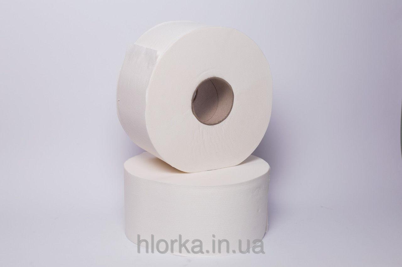 Туалетная бумага Джамбо OVER SOFT, белая, 2-слойная целлюлоза, 459 лист., 12рул./уп. Германия