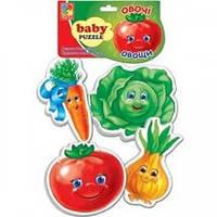 Беби пазл Овощи