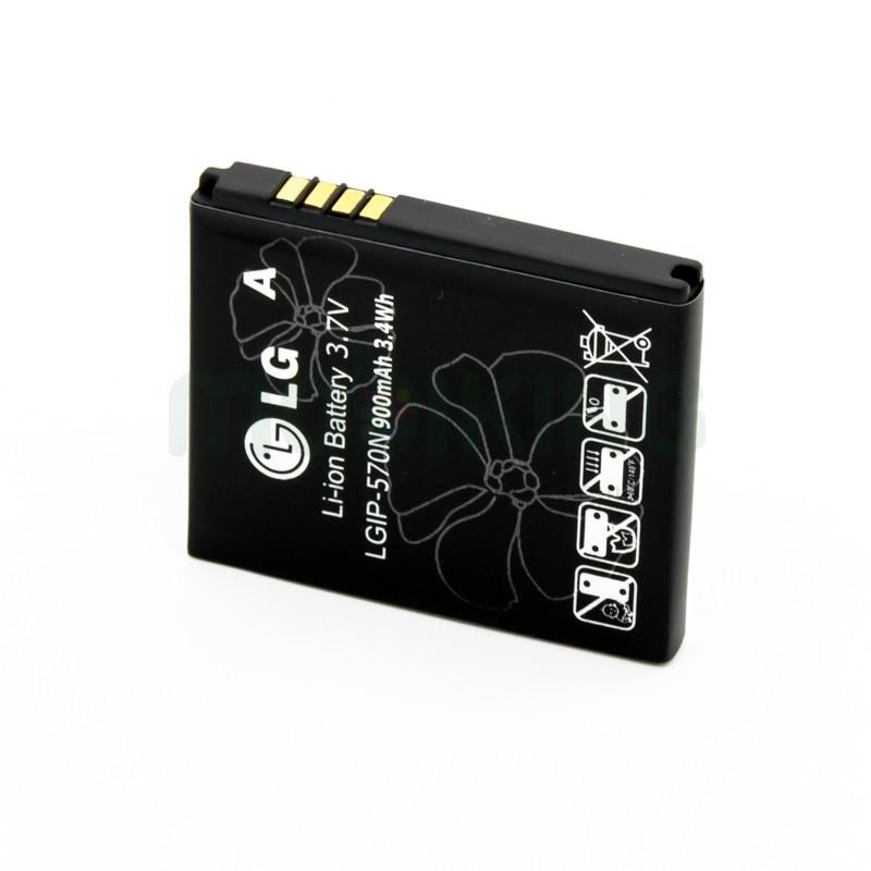 Оригинальная батарея на LG GD310 (LGIP-570N) для мобильного телефона, аккумулятор для смартфона.