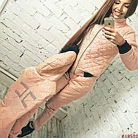 Зимний женский спорт костюм тройка норма
