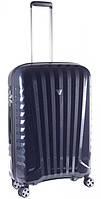 Практичный 4-колесный чемодан, пластиковый 71 л. Roncato UNO ZSL Premium 5175 0193 синий карбон