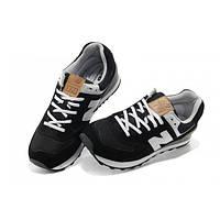 Кроссовки женские New Balance 574 D909 Чёрные