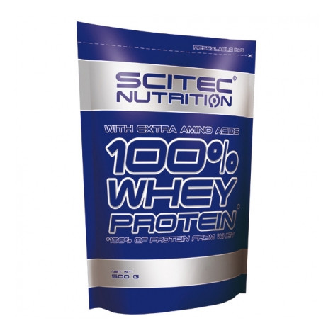 Scitec Nutrition 100% Whey Protein 500g
