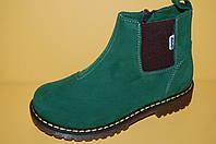 Демисезонные ботинки на девочку Eleven Shoes код 807 размеры 34