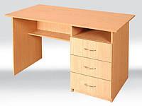 Стол письменный с ящичками 1200х600х750 мм, ящики с права