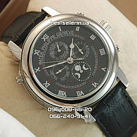 Часы Patek Philippe Sky Moon Tourbillon Silver/Black. Класс: ААА., фото 1