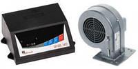 Комплект автоматики для твердотопливного котла KG Elektronik SP-05 LED + вентилятор DP-02
