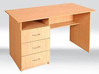 Стол письменный с ящичками 1200х600х750 мм, ящики с лева