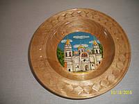 Тарелка сувенирная с росписью