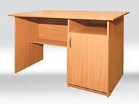 Стол письменный 1-дверный 1200х600х750 мм, тумба справа