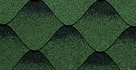 Тройка. Зелено-черный.Форма K