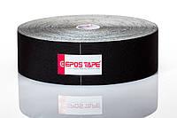 Кинезио тейп EPOS TAPE 31,5м, чёрный