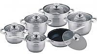 Набор посуды 12 предметов MAXMARK MK-3512A