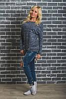 Женская удлиненная кофта джинс, фото 1