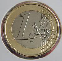 Монета Кипра 1 евро 2015 г.