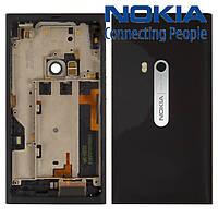 Корпус для Nokia N9, оригинал, черный