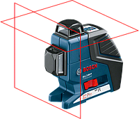 Линейный лазерный нивелир BOSCH GLL 2-80 P +ВКЛАДКА ПОД L-BOXX