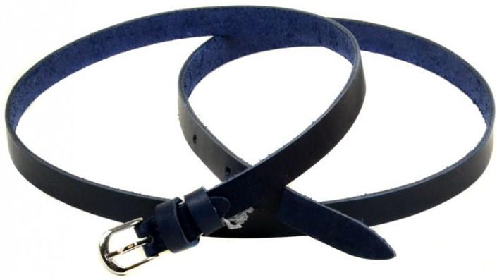 Ремень Женский кожа H2109-3 синий, ДхШ: 100х1,5 см