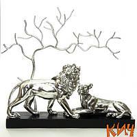 Львы пара 802 35см
