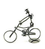 """Техно-АРТ Q-002  """"Велосипедист"""" 22.5 см"""