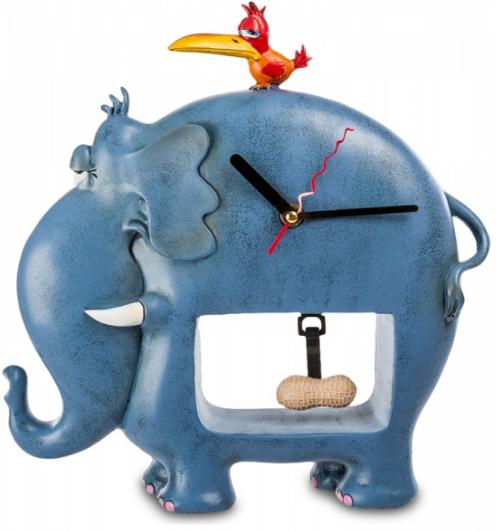 """Часы настольные """"Слон и Машка"""" RV-254 COMIKAL WORLD"""