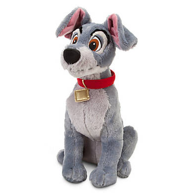 Плюшевая игрушка собака Трамп из м/ф Леди и Бродяга 40 см Дисней / Lady and the Tramp Plush Disney