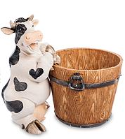 "GG-4498 LD Кашпо ""Корова с кадушкой""  США"