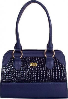 Симпатичная женская сумка из качественного кожзама ETERNO ETMS35319-6 синий