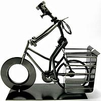 """Подставка для ручек и карандашей Техно-АРТ C-103 """"Велосипедист"""""""