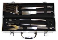 Набор для гриля в металлическом кейсе (4 предмета)