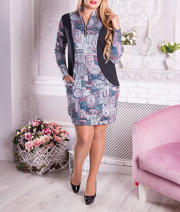 """Платье-туника большого размера """"Тенита"""""""