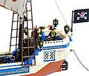 Конструктор BRICK 311 Пиратский корабль                                                   , фото 4