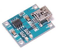 контроллер заряда батарей  mini USB TP 4056