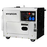Генератор дизельный HYUNDAI DHY 8000SE (5.5 кВт)