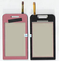 Сенсор Samsung S5230 розовый (качественная копия)