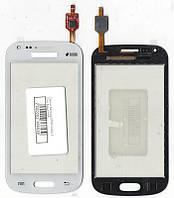 Сенсор Samsung S7562 Galaxy S Duos белый (качественная копия)