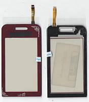 Сенсор Samsung S5230 красный La Fluer (качественная копия)