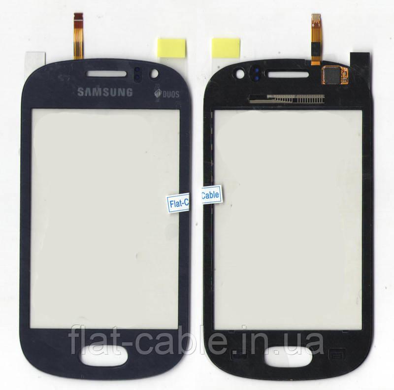 Сенсор Samsung S6810 Metallic Blue original