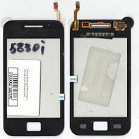 Сенсор Samsung S5830i small ic чёрный (качественная копия)
