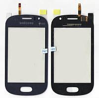 Сенсор Samsung S6810 Metallic Blue high copy
