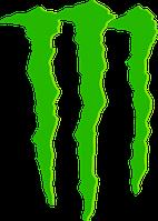 Виниловая наклейка - Monster Lines (от15х10 см)