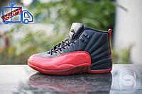 Мужские кроссовки NIKE AIR JORDAN XII RETRO JAPANESE EDITION, красно-черный цвет