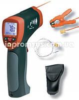 Пирометр Extech 42515-Т инфракрасный термометр широкого диапазона с термопарой-зажимом типа К на 1370°С, 13:1