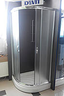 Душевая кабина Devit Nymfa FEN0301PDEV (90х90х195 см) с поддоном  15 см