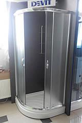 Душова кабіна Devit Nymfa FEN0301PDEV (90х90х195 см) з піддоном 15 см