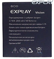 Батарея (АКБ, аккумулятор) для Explay Vision (2000 mah), оригинальный