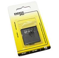 Аккумулятор (батарея) Nokia BP-6M, Enegro Plus, 1100 mAh (6151, 6233, 6288, N73, N77)