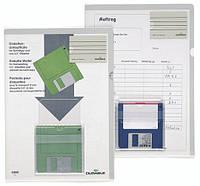 Папка-уголок c карманчиками для визитки и дискеты DURABLE 5480