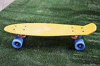 Пенни борд Original желто-синий