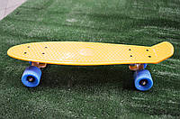 Пенни борд Original желто-синий, фото 1